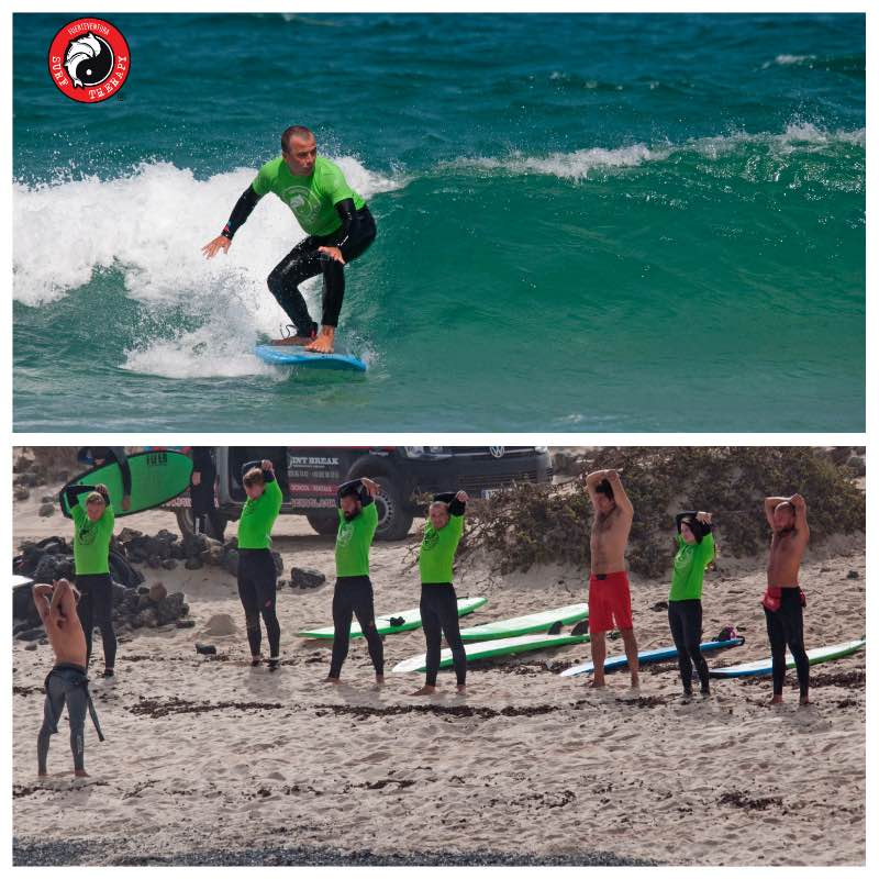 Michi's video about his surf camp in Fuerteventura with Surf Therapy