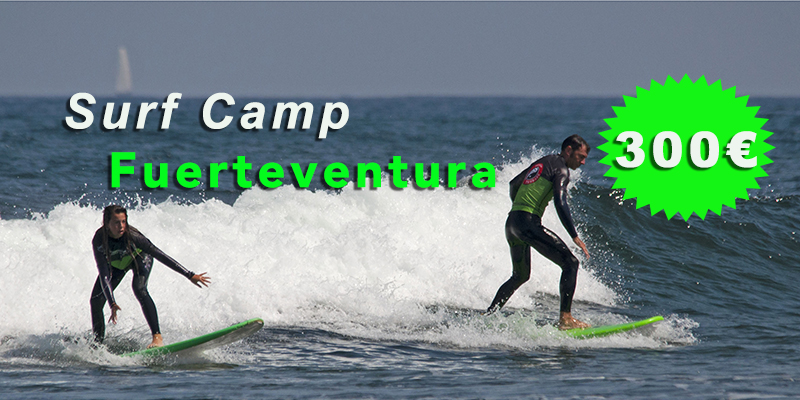 SurfCamp Fuerteventura 300€ week