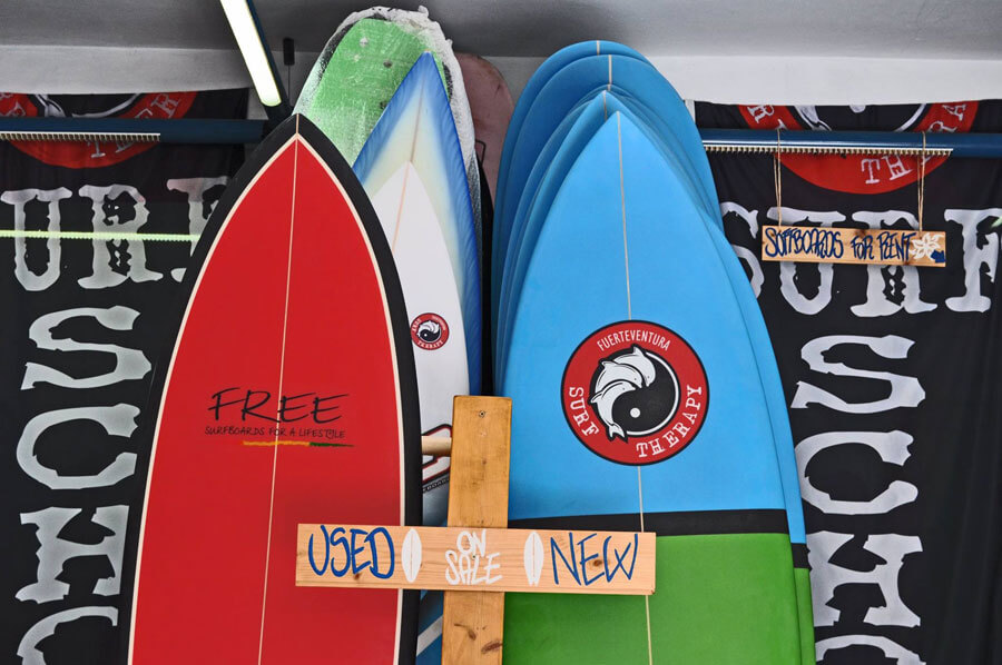 New Surf Therapy surfboards